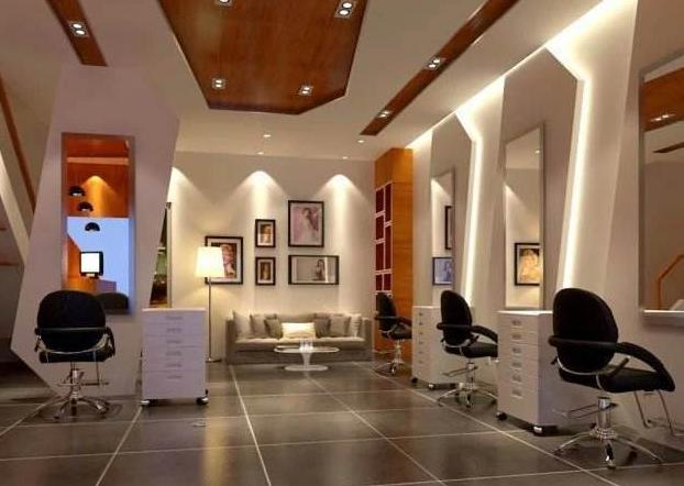 聊城美发店装修风格 聊城美发店装修效果图图片