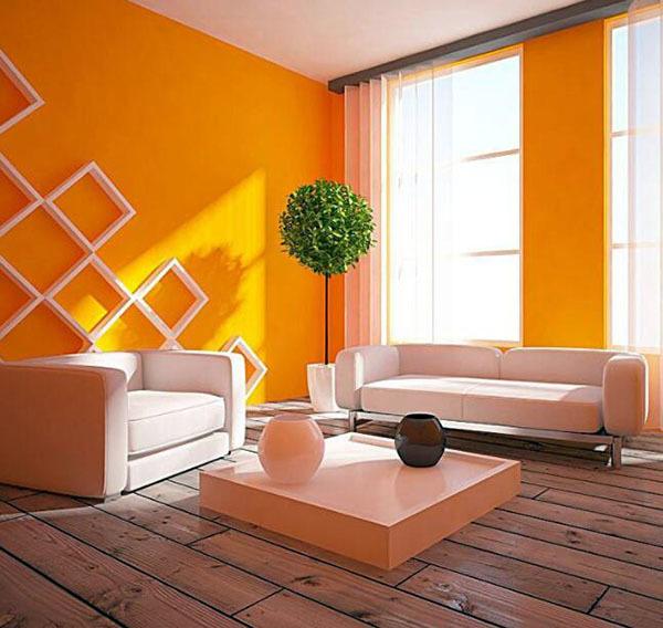 橙色和什么颜色最搭