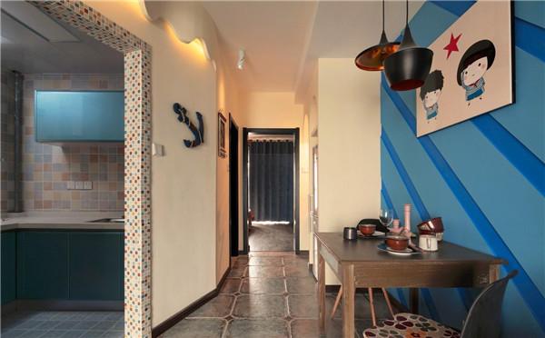 舟山欧雅装饰地中海风格设计案例