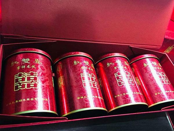 紅雙喜鐵罐50支煙價格
