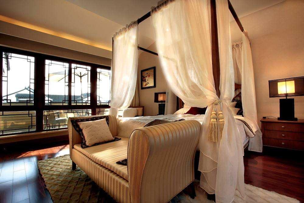 中式酒店装修风格效果图