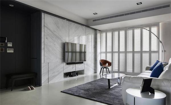 93平米3室装修预算8万客厅效果图
