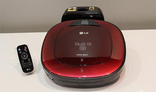 LG扫地机器人