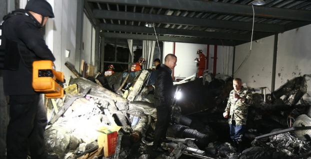 污水罐坍塌已致9人死亡