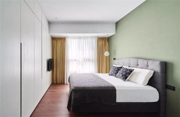 96平方三室一厅装修主卧效果图