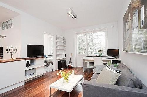 公寓装修简约风格设计效果图
