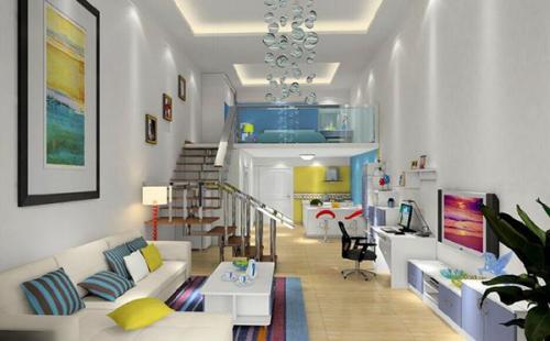 公寓装修古典风格设计效果图