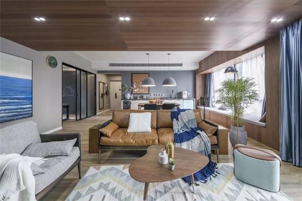 20万装修150平米客厅效果图