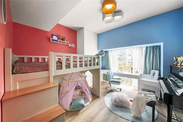 20万装修150平米儿童房效果图