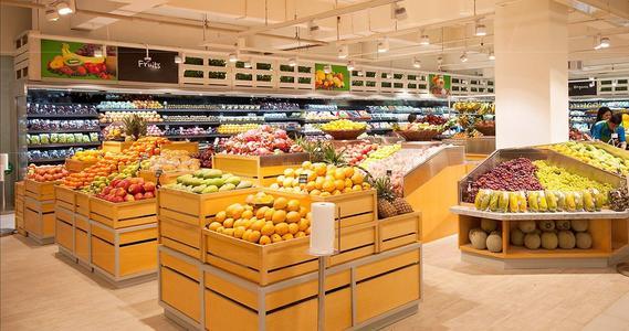 超市装修设计雅致风格效果图