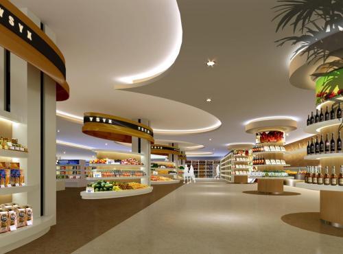 超市装修设计田园风格效果图