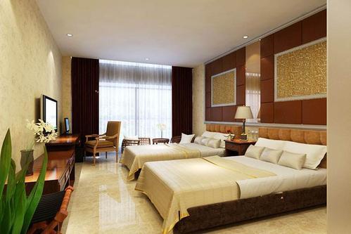 宾馆装修现代风格设计效果图