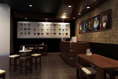 威海咖啡厅简单装修多少钱