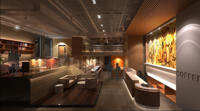咖啡厅装修省钱技巧之灯光