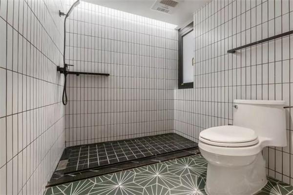 98平房子三室一厅装修卫生间效果图