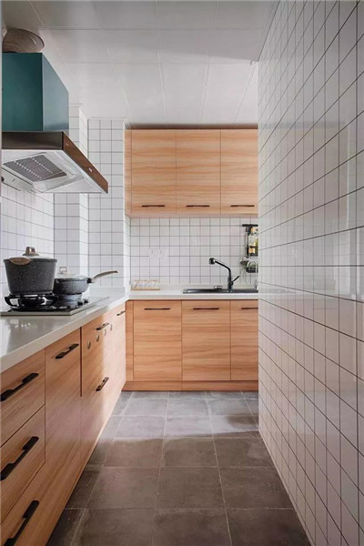 福州86平米装修厨房效果图