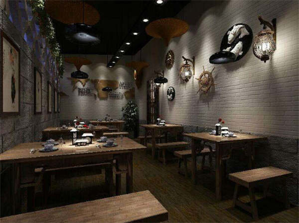 杭州餐饮店面装修公司