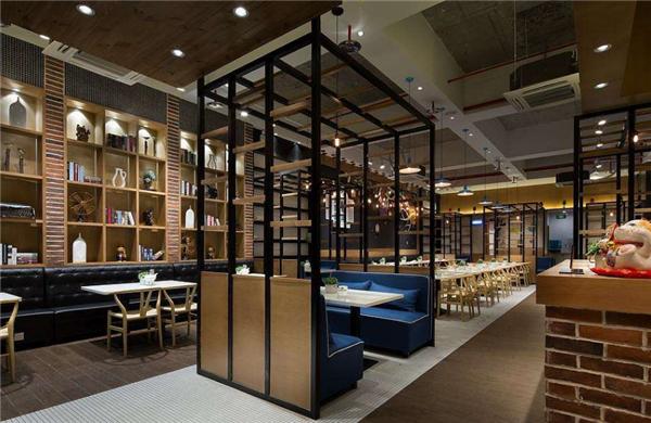 杭州餐饮店面装修