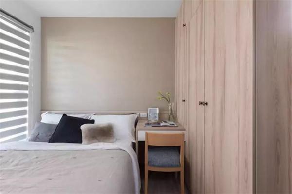 句容中央美地88平米两居装修次卧效果图