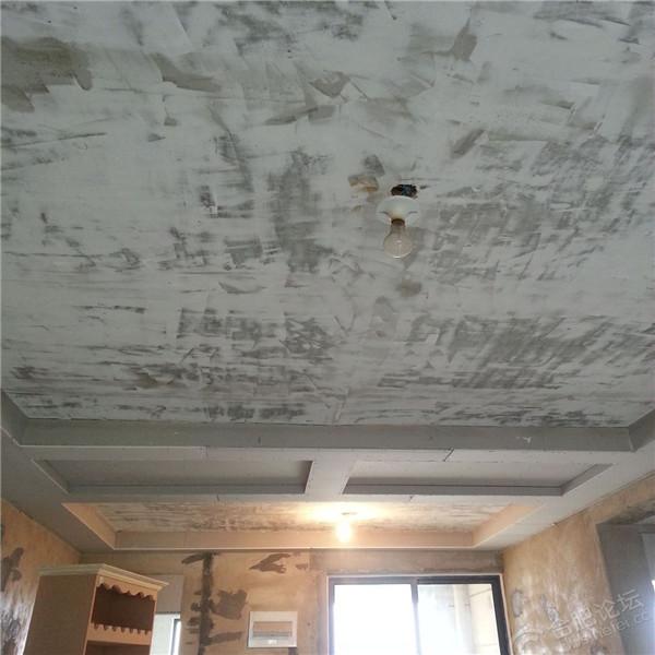 铲墙是做完吊顶后做吗