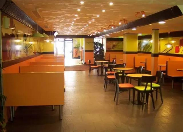 杭州快餐厅装修