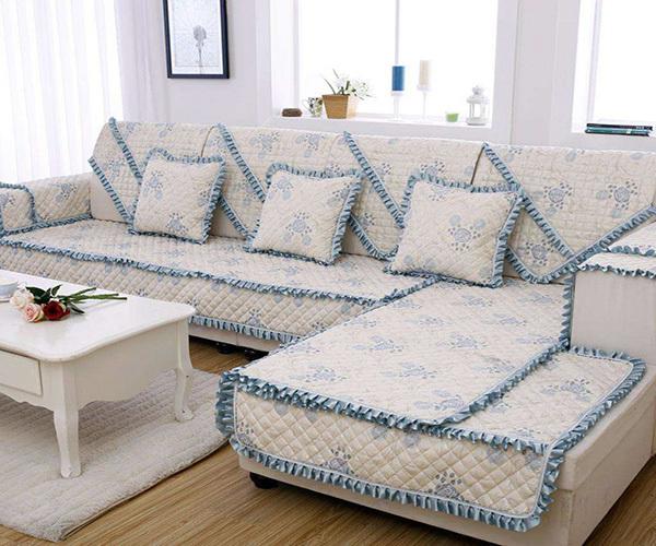 沙发垫怎么铺不掉