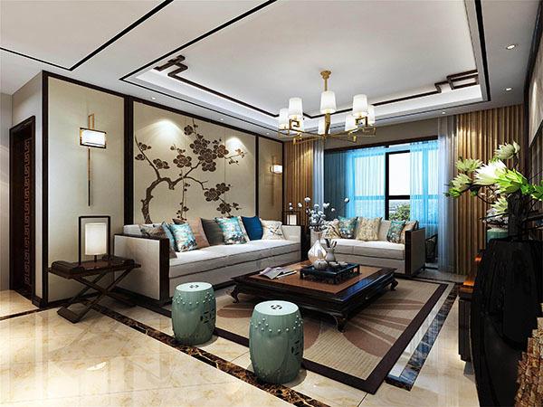 新中式装修家具什么颜色好看