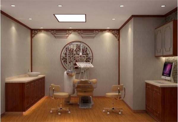 杭州口腔诊所中式装修