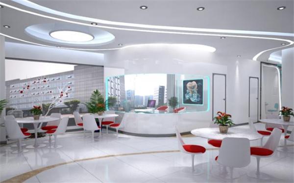 杭州口腔诊所科技风装修