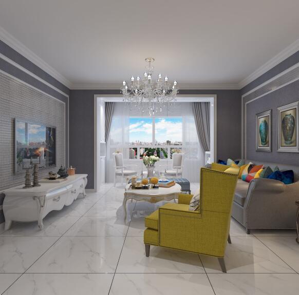 客厅瓷砖选择什么颜色好看