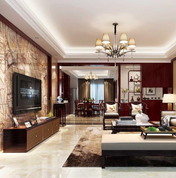 客厅瓷砖怎么铺好看