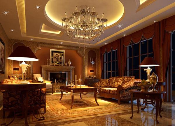 高档客厅装修风格