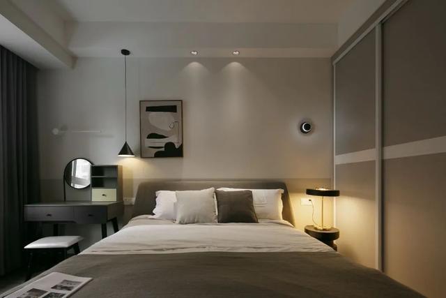 现代简约风卧室装修案例