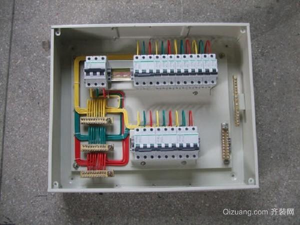 家装配电箱接线规范