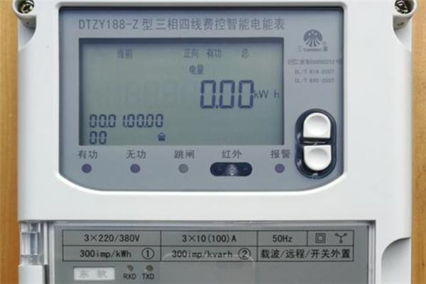 數字電表怎么接線
