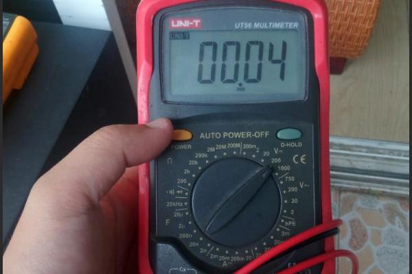万用表测电流