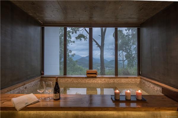 吸引人的民宿装修风格:轻松温泉