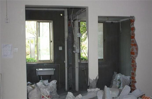 装修时剪力墙误拆怎么补救