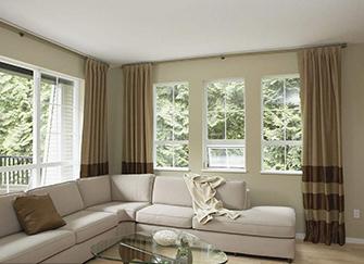 客厅窗帘如何选择 有哪些搭配方法