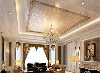 室内装修吊顶材料使用材料 常见几种类型都在这