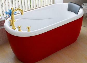 家用浴缸高度是多少 不同形状的浴缸尺寸介绍