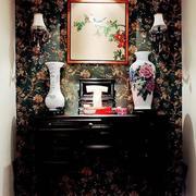 美式风格卫生间洗手台