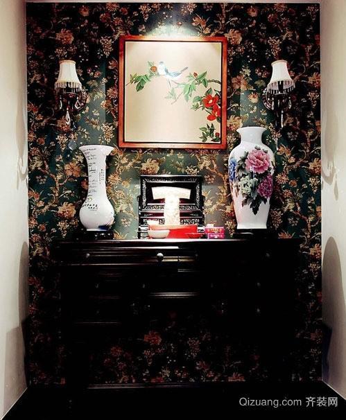 复古典雅美式风格室内装修效果图