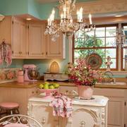 中性暖色系厨房装修