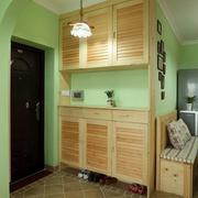 果绿色鞋柜图片展示