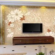 印花式客厅背景墙