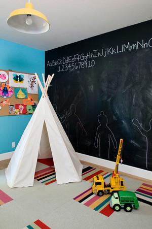 儿童房装修效果图大全2014