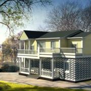简约房屋设计效果图