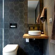 欧式高贵华丽型卫生间