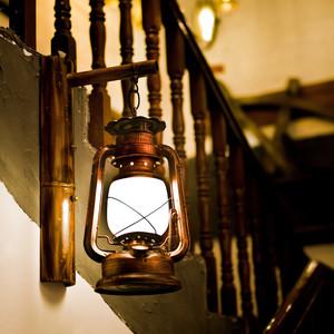 中式木质楼梯